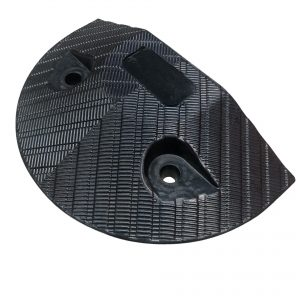 Enviro Speed Hump End Cap- Black - With Fixings