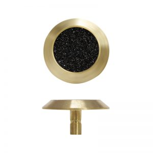 Tactile Indicator – Brass/Black Carb