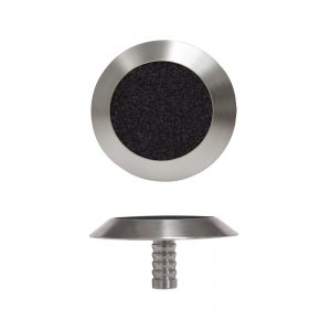 Tactile Indicator – Stainless/Black Carb